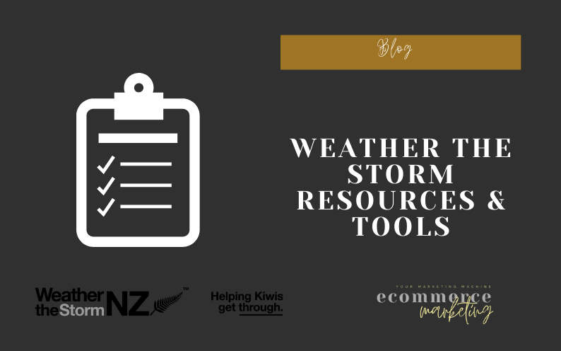 Weather The Storm Resources & Tools